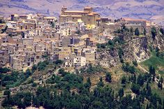 Enna, Sicily. Went here before an Easter one year & picked up some He has Risen pastries as we strolled the magnificent town.