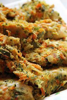 Zucchini Veggie Bake - Low Carb side dish