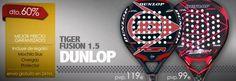 Ofertas de 10 Palas en marcas como Dunlop, Akkero, Head, y otras tantas.