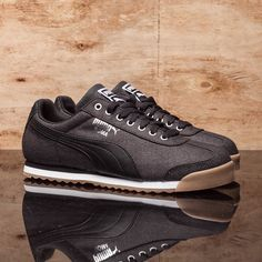 "purchase cheap b90ba fe820 ... on Instagram  ""That classic Puma Roma silhouette with Waxed Denim upper     65  getdressed  drjays  drjaysstyle  puma  pumaroma  waxeddenim  sneakers …"""