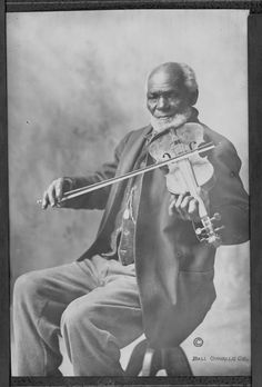 LOUIS SOUTHWORTH | was brought to Oregon as a SLAVE in the 1850's and worked as a gold miner and played his fiddle at dancing schools to raise money to buy his freedom. Southworth Creek in Lincoln County is named for him. (Oregon Historical Society)
