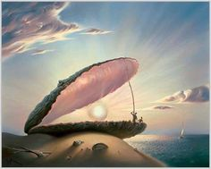 """Perle"", de Vladimir Kush"