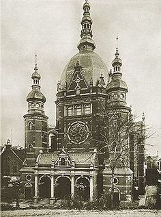 The Great Synagogue (Polish: Wielka Synagoga, German: Neue Synagoge), was a synagogue of the Jewish Community of Danzig in the city of Danzig, Germany (later Free City of Danzig, now Gdańsk, Poland). It was built in 1885-1887 on Reitbahnstraße, now Bogusławski Street. It was the largest synagogue in the city, and was demolished by the Free City authorities in May 1939.