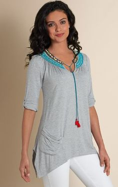 Plus Size Peasant Tops this goes up to size 3x