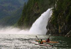 Sea Kayaking British Columbia tours and kayaking Vancouver Island BC Canada #GILOVEBC
