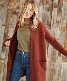 Winter Sweaters, Sweater Coats, Women's Sweaters, Big Sweater, Sweater Weather, Green Sweater, Fall Winter Outfits, Autumn Winter Fashion, Fall Fashion