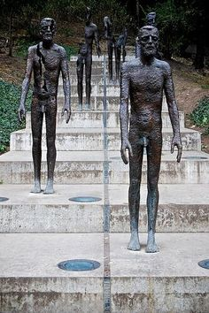 Monument to honour victims of the communist regime in #Prague #travel praguetourguide.tumblr.com