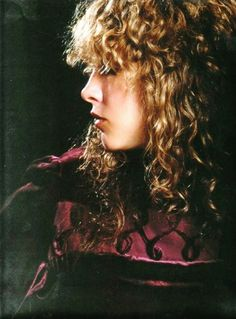 a beautiful photo of Stevie ~ ☆♥❤♥☆ ~ featuring her long golden locks and perfect facial profile
