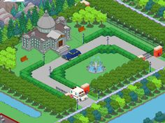Photo: Uploaded from the Photobucket iPad App. This Photo was uploaded by Simpsons Springfield, Springfield Tapped Out, Springfield Heights, The Simpsons Game, Clash Of Clans, Animal Crossing, Instagram, Mansions, Ipad App