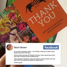 Shoutout to Tatum Brown of The Social Dog Company for trusting OzStickerPrinting to be your postcard and bumper sticker provider. It's amazing how her love dogs can inspire a lot of people and our team is honoured to be part of her advocacy.