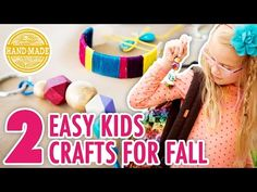 2 Fall Kids' Crafts with Special Guest Lulu! - HGTV Handmade - YouTube