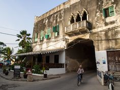 Entrance to Stone Town, the old town of Zanzibar African Vacation, Stone Town, Alleyway, Tour Guide, Tanzania, Old Town, Entrance, Old Things, Street View