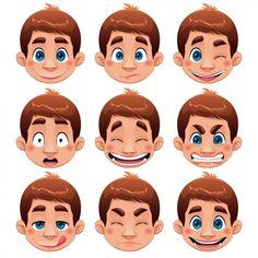 boy-faces-collection_1196-187.jpg (626×626)