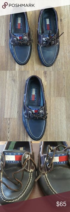Tommy Hilfiger Men Vintage Topsider  8.5 M Tommy Hilfiger Vintage Topsider  8.5 M Tommy Hilfiger Shoes Oxfords & Derbys