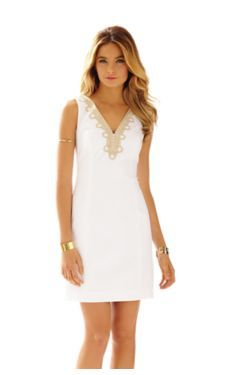 Bentley V-Neck Shift Dress - Lilly Pulitzer