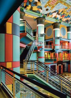 Postmodern architecture emerged in the 1960s as a radical response to the clean-lined modernist structures that dotted many a mid-century metropolis. By deploying classical geometries in oversized scales as well as eclectic material palettes, architects like Michael Graves, Ettore Sottsass, and Robert A.M.   #INTERIORDECORATION #interiordesign #RadicalPostmodernInteriors #themostexpensivehomes