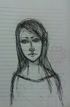 A drawing by me, I call her eh... cool lady