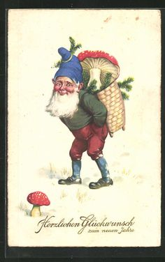 Norwegian Christmas, Scandinavian Christmas, Christmas Images, Christmas Elf, Kitsch, West Texas, New Year Card, Merry Christmas And Happy New Year, Vintage Holiday