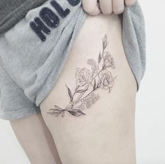 Delicate Floral Design by Flower