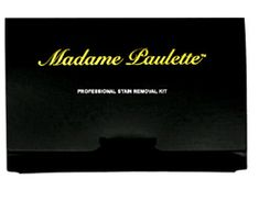 My Travel Packing List: Madame Paulette Professional Stain Remover Kit- Fo...