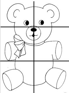beren puzzel 6 Preschool Printables, Preschool Worksheets, Preschool Activities, Teddy Bear Crafts, Teddy Bear Day, Quiet Book Templates, Quiet Book Patterns, Baby Quiet Book, Alphabet Tracing