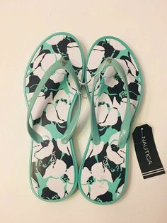 340f9f9322e Nautica Women s Connery Flip-Flop Ocean Wave Size US 6 UK 4   EUR 36-37.  NWT  fashion  clothing  shoes  accessories  womensshoes  sandals (ebay link)