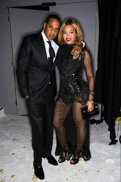 Beyonce and Jay Z Tom Ford show