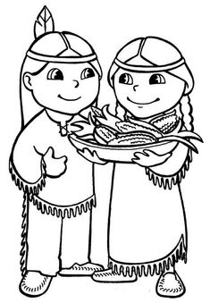 native american coloring pages for preschool | Native Americans | Free Printable Coloring Pages ...