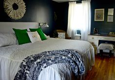 It's Reveal Day for my restyled Master Bedroom!