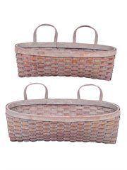 Pocket Wall Baskets for the bathroom!