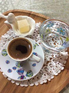 Turkish coffee with Turkish delight..
