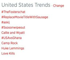 Oh look, Love Kills trended too!