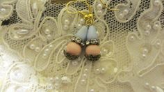 Assemblage Earrings Shabby Chic Jewelry by BerthaLouiseDesigns, $14.95