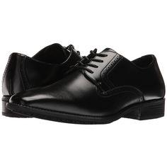 Stacy Adams Ardell Slip Resistant Plain Toe Oxford (Black) Men's Plain... (8640 ALL) ❤ liked on Polyvore featuring men's fashion, men's shoes, men's dress shoes, mens black dress shoes, mens shoes, mens oxford dress shoes, mens black shoes and mens lace up dress shoes