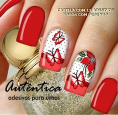 Uñas decoradas con hermosos diseños para hacerte en casa, Decoraciones para lucir radiante y lúcida. Para los pies y manos, tutoriales paso a paso en videos Diy Nail Designs, Nail Polish Designs, Spring Nail Art, Spring Nails, Cute Nails, Pretty Nails, Glitter Nails, Gel Nails, Nail Polish Crafts