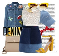 """""""#51"""" by elliesmile7 ❤ liked on Polyvore featuring Au Jour Le Jour, Valextra, Chicwish, Steve Madden, Dolce&Gabbana, New Look and Denimondenim"""