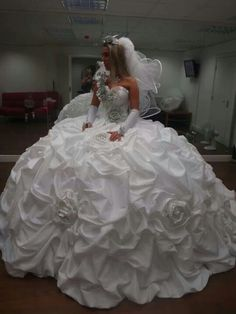 Thelma Madine wedding dress...