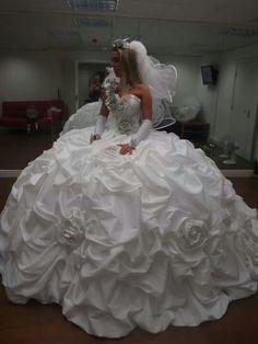 Thelma Madine wedding dress...