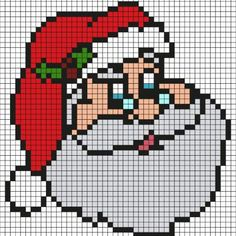 Find all our Pixel Art Christmas with Santa, Rudolph the reindeer, a Christmas tree, Christmas balls and still other models print on the theme of Christmas Pixel Art Pikachu, Pixel Art Kawaii, Pixel Art Anime, Art Pokemon, Santa Cross Stitch, Cross Stitch Bookmarks, Cross Stitch Patterns, Pixel Art Minecraft, Minecraft Crafts