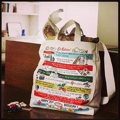 The Birthday shopper tote is our team's must-have favourite keep-sake from the birthday collection | Cath Kidston
