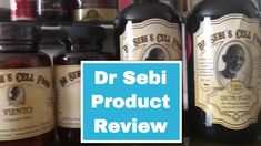 Dr Sebi Product Review - Banju, Viento, Testo & Iron Plus (Eat To Live)