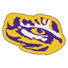 LSU Tigers Mascot Area Rug Floor Mat