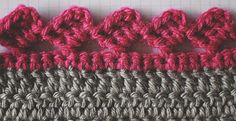 Finishing: 5 Crochet Edges You Should Know. Some invaluable information to consider for crochet edges <3