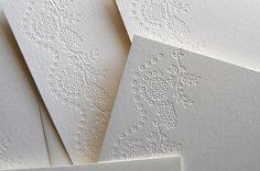 Pistachio Press blind lace