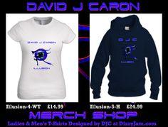 David J Caron Merchandise Design at Dizzyjam Design T Shirt, Shirt Designs, Album, T Shirts For Women, Band, Sweatshirts, Artwork, Sweaters, Sweater