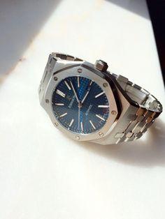 Audemars Piguet Royal Oak 15400 Blue Dial