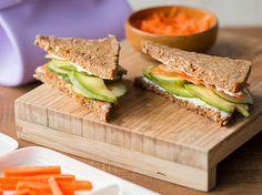 Avocado Frischkäse Sandwiches