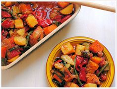 Tamara's Ratatouille by Yotam Ottolenghi The best ratatouille ever. Soup Recipes, Vegetarian Recipes, Cooking Recipes, Healthy Recipes, Superfoods, Ottolenghi Recipes, Yotam Ottolenghi, Ratatouille Recipe, Good Enough To Eat