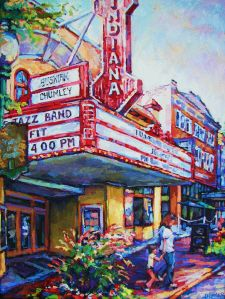 "Wyatt LeGrand ""Matinee"" Buskirk Chumley theatre downtown Bloomington"