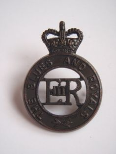 The Blues and Royals Cap Badge